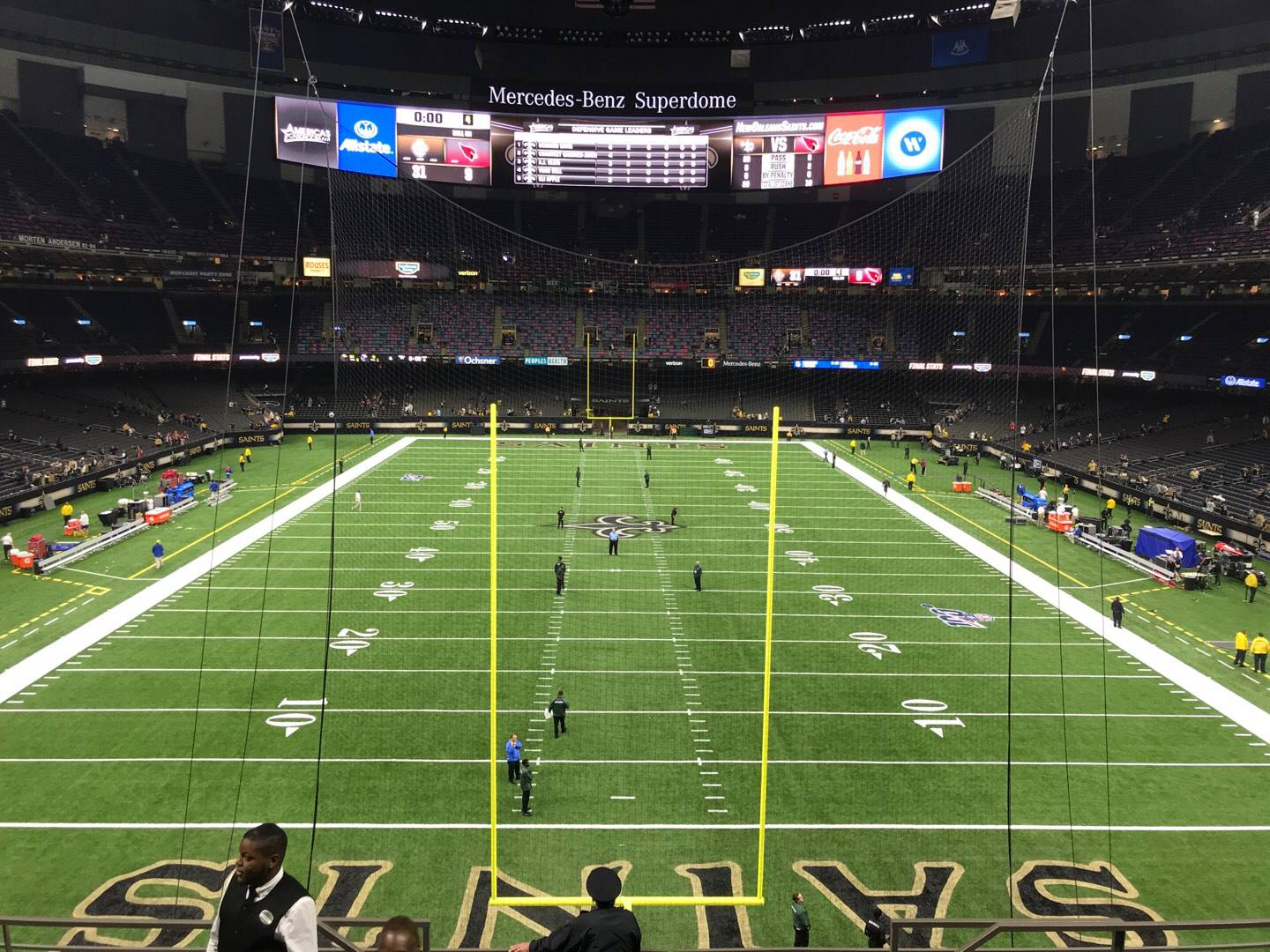Mercedes-Benz Superdome Section 338 Row 10 Seat 8