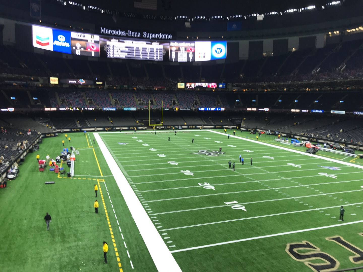 Mercedes-Benz Superdome Section 302 Row 7 Seat 8