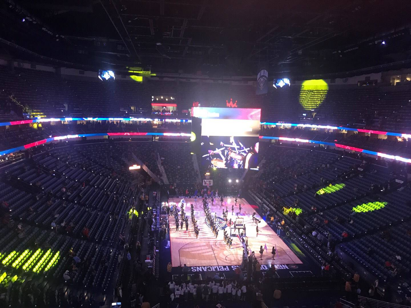Smoothie King Center Section 309 Row 4 Seat 10