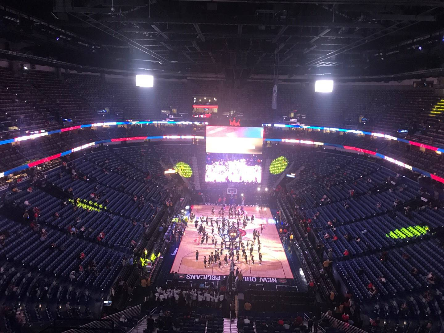 Smoothie King Center Section 308 Row 11 Seat 8