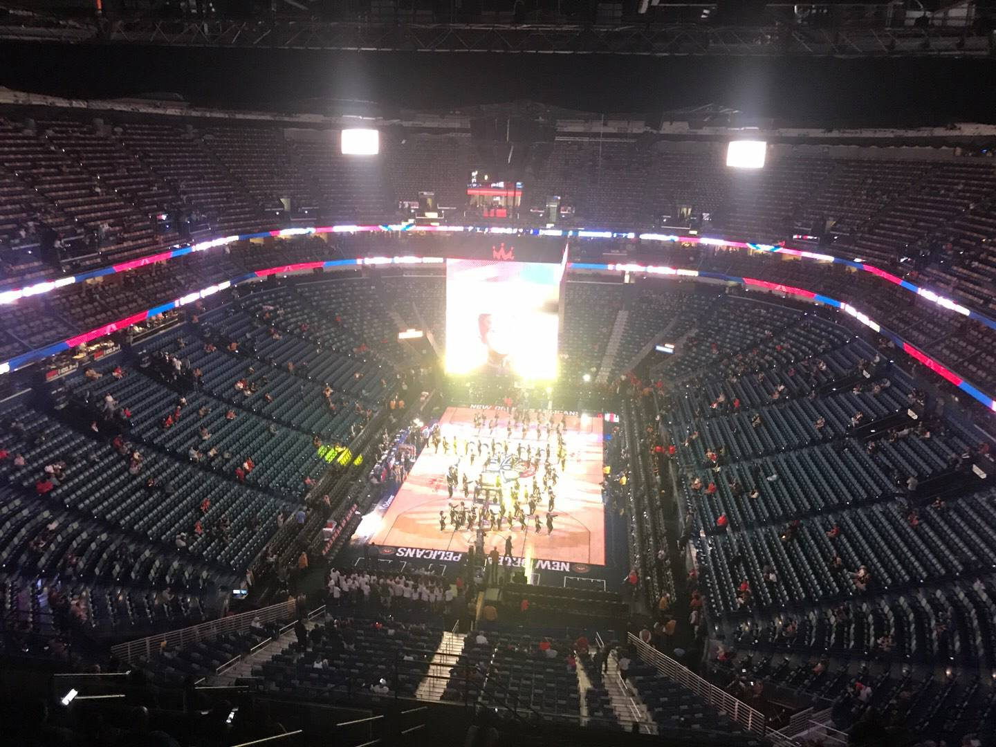 Smoothie King Center Section 307 Row 17 Seat 14