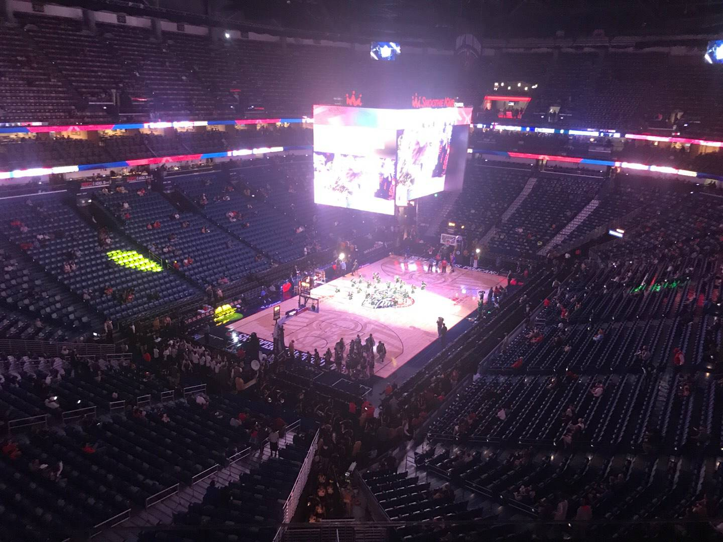 Smoothie King Center Section 305 Row 7 Seat 12