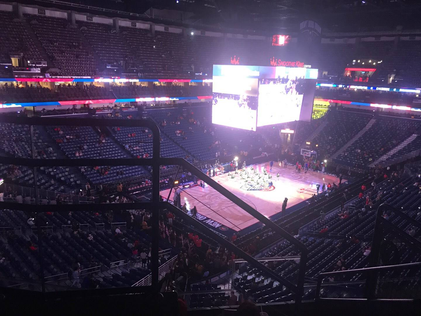 Smoothie King Center Section 304 Row 5 Seat 5