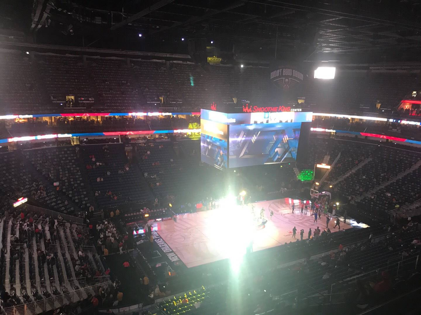 Smoothie King Center Section 303 Row 11 Seat 8