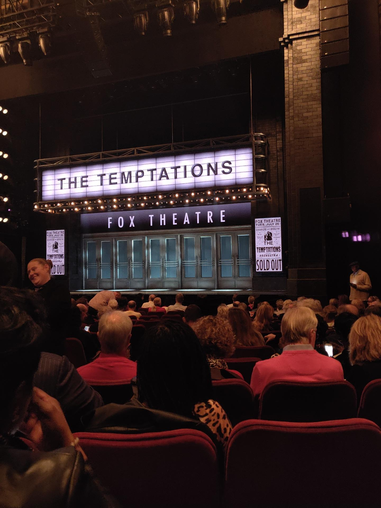 Imperial Theatre Section Orchestra R Row M Seat 3
