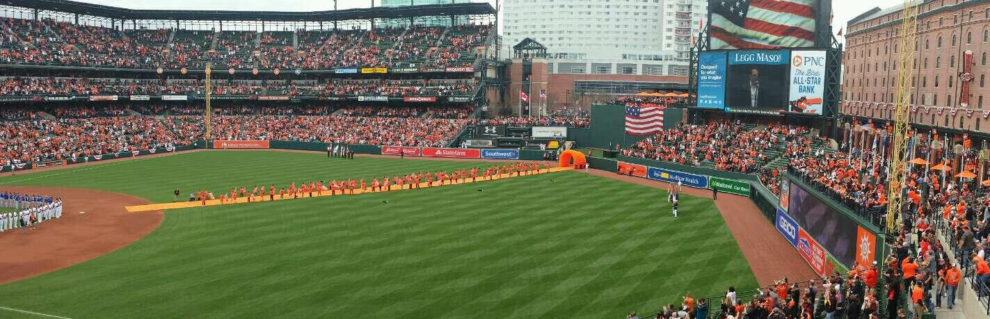 Oriole Park at Camden Yards Section 210 Row 2 Seat 9