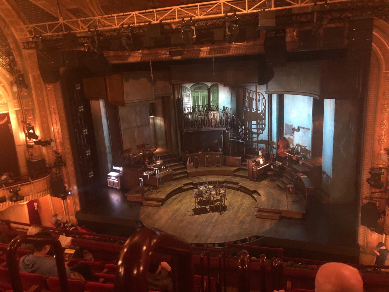 Walter Kerr Theatre Section MEZZ Row G Seat 2