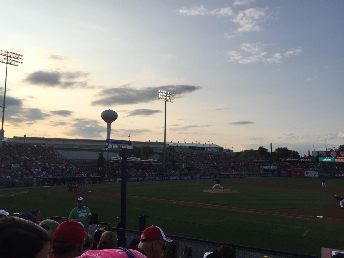FirstEnergy Stadium (Reading) Section Right 1 Row 11 Seat 3