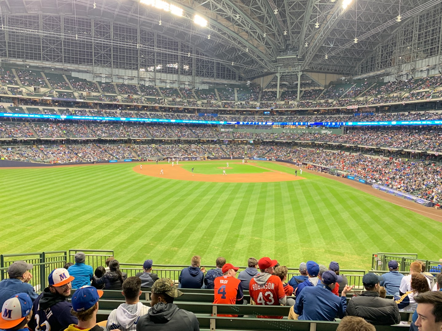 Miller Park Section 238 Row ADA Seat 9