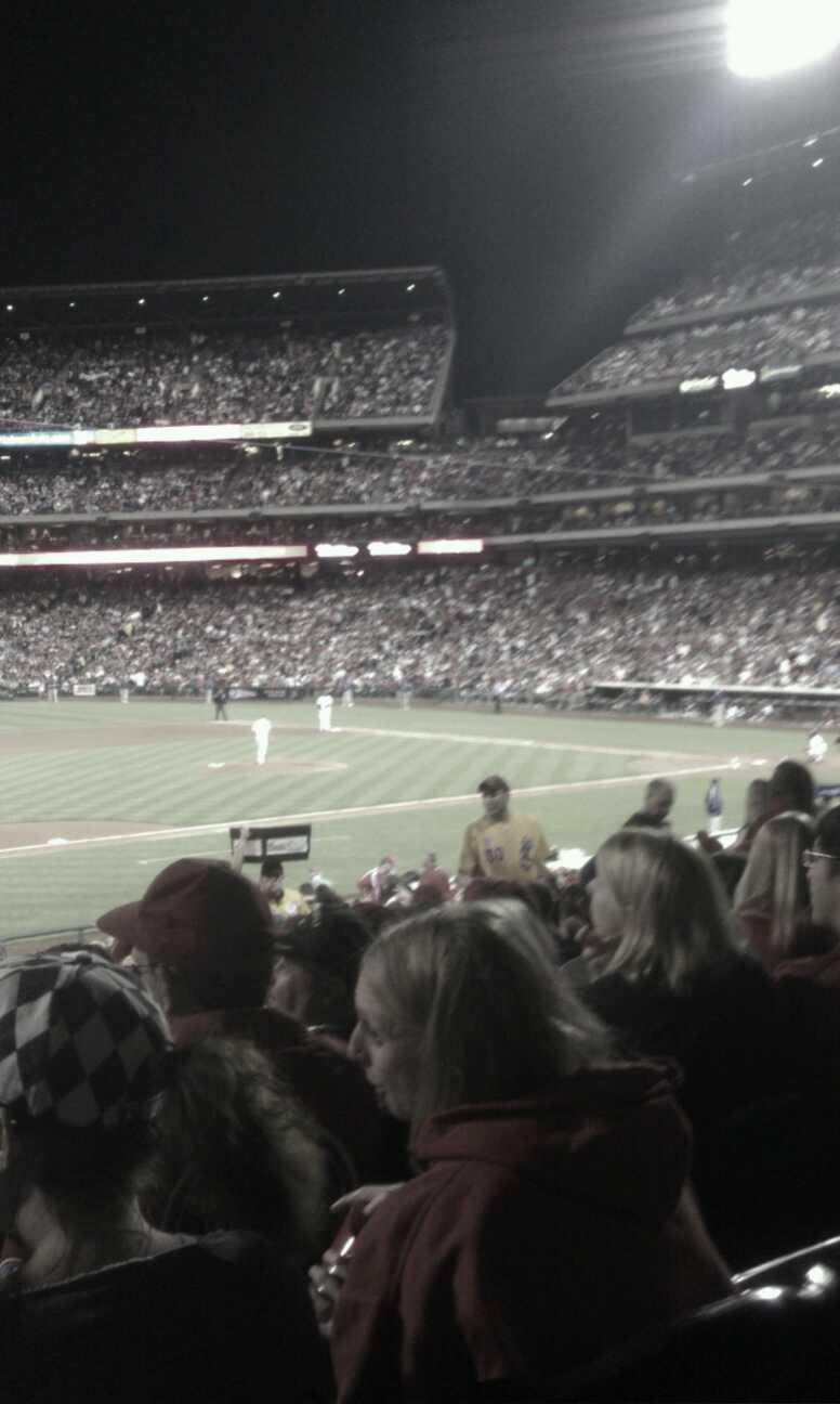 Citizens Bank Park Section 133 Row 32 Seat 14