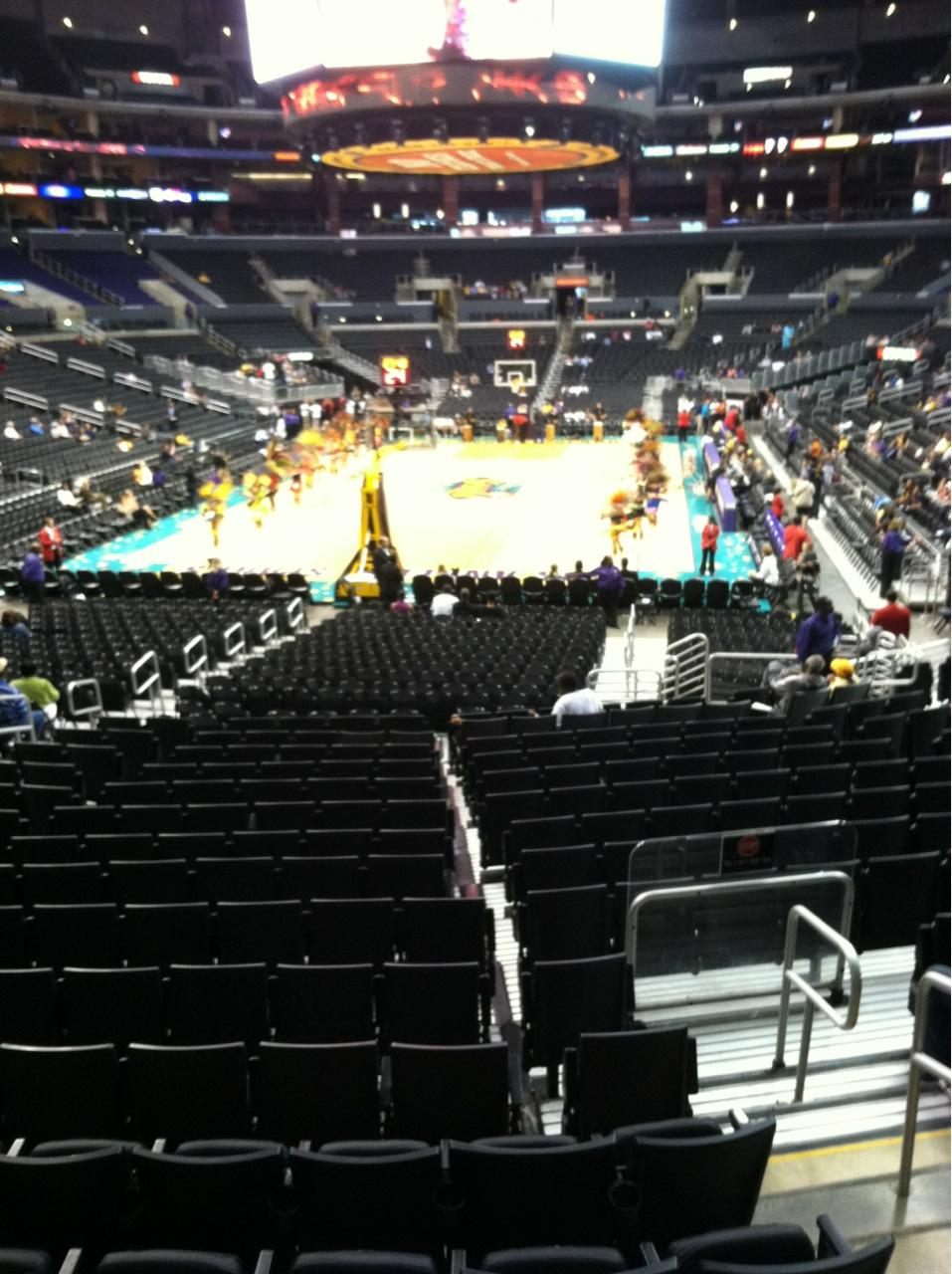 Staples Center Section 106 Row 18 Seat 19