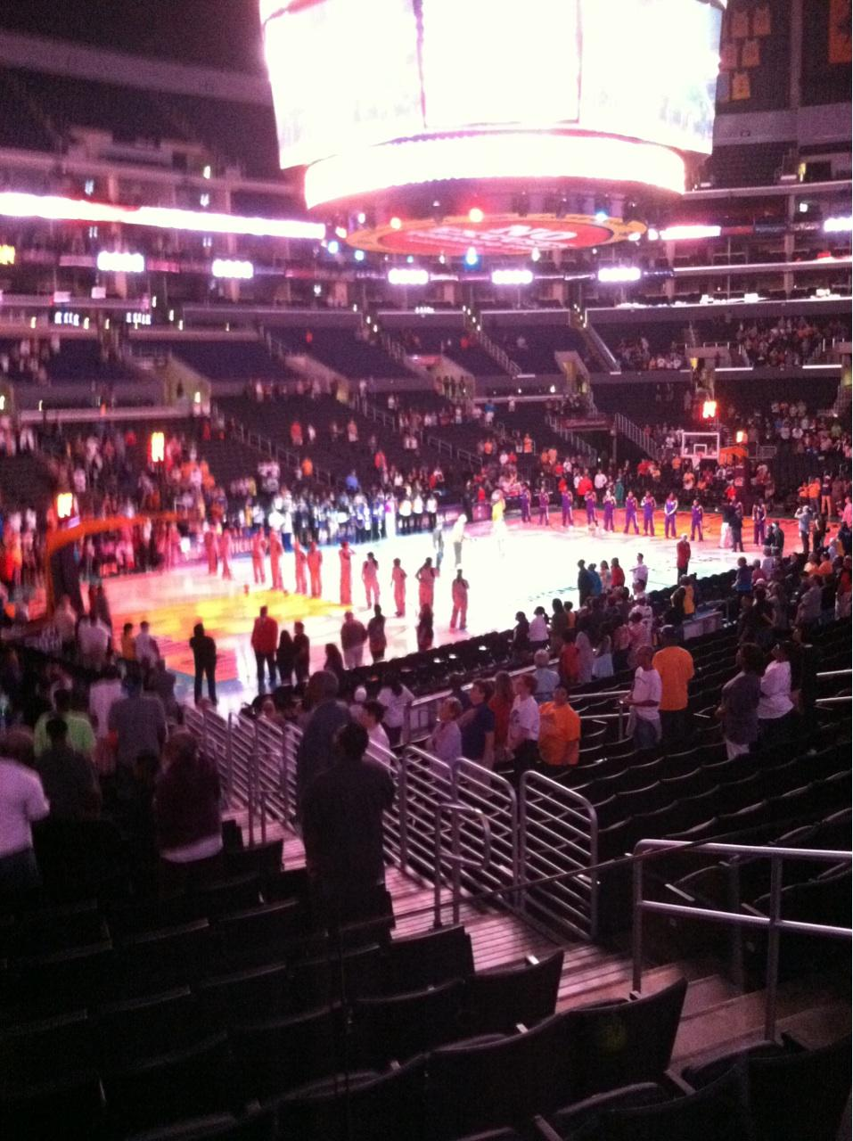 Clippers Lakers Staples Center Section 114