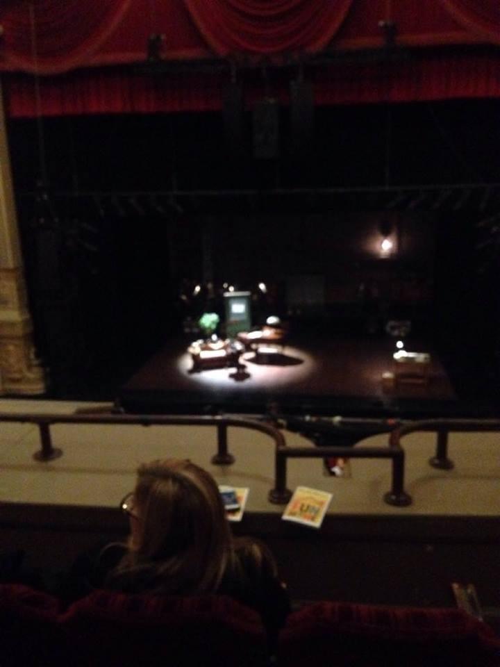 Oriental Theatre Section LOGE C Row C Seat 310