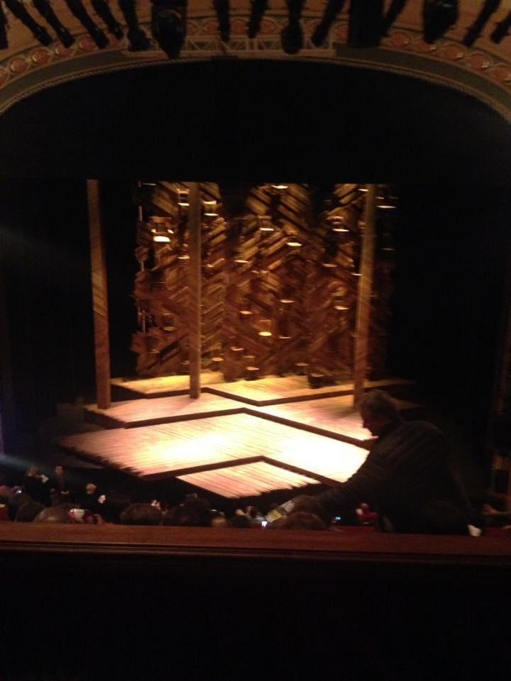 Bernard B. Jacobs Theatre Section Mezzanine C Row E Seat 103