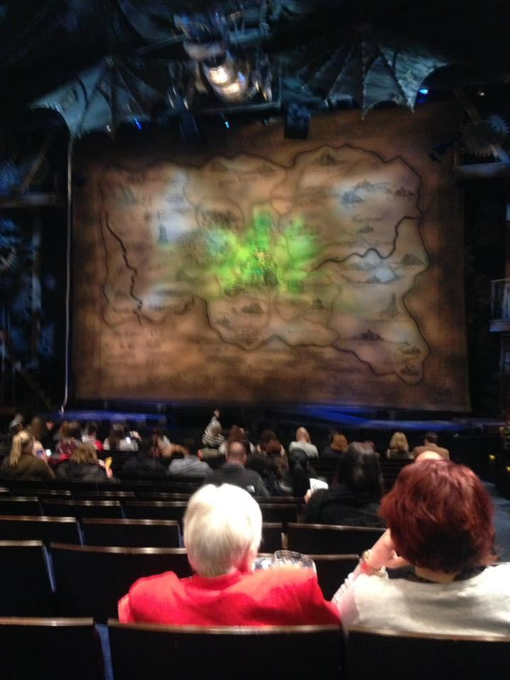Gershwin Theatre Section Orchestra C Row L Seat 118