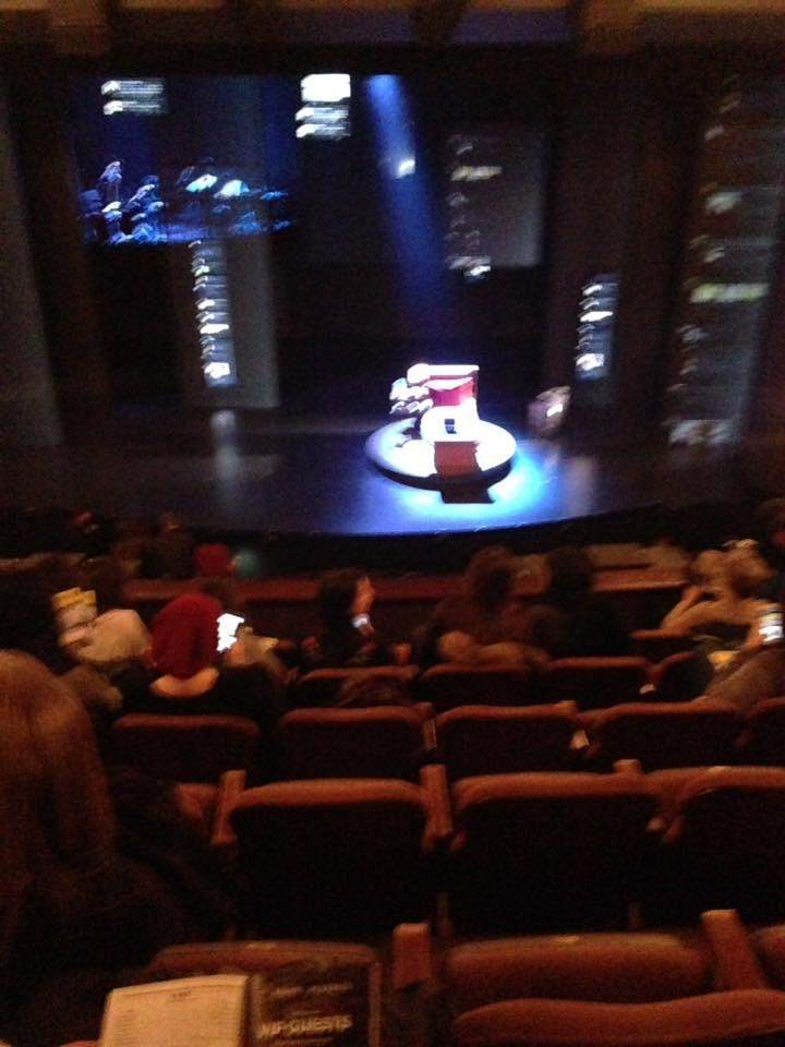 Music Box Theatre Section Mezzanine C Row G Seat 107