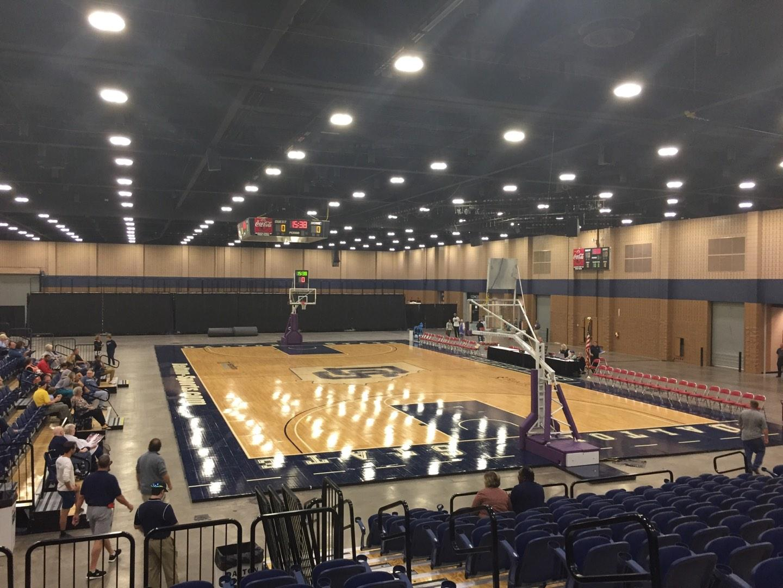 Mashburn Arena Section 3 Row NN Seat 4