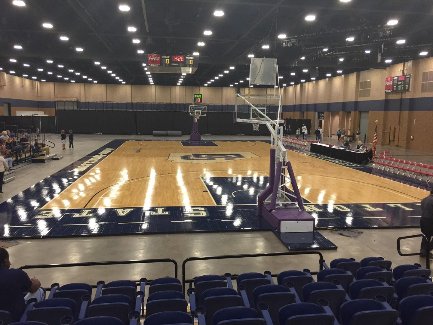 Mashburn Arena Section 2 Row HH Seat 7