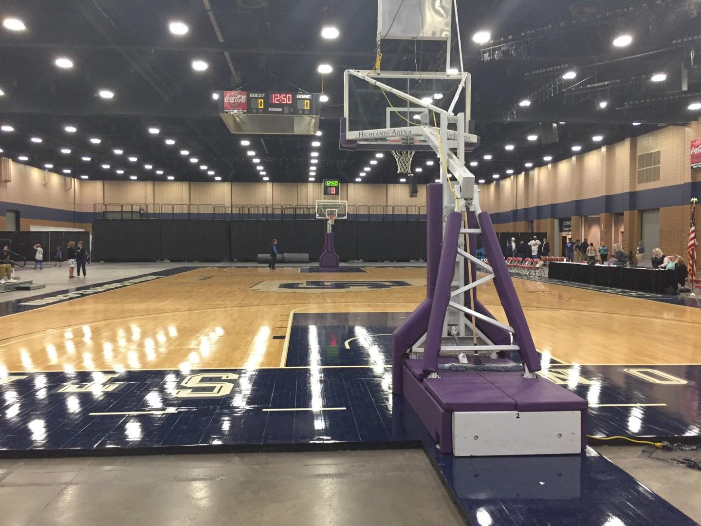 Mashburn Arena Section 2 Row AA Seat 3
