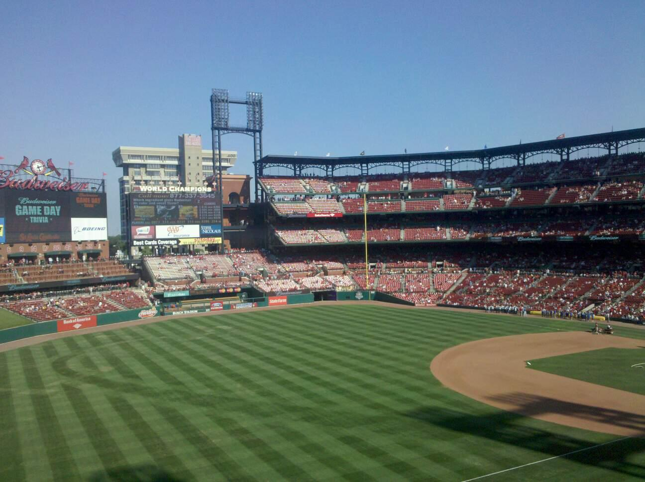 Busch Stadium Section 275 Row 6 Seat 18