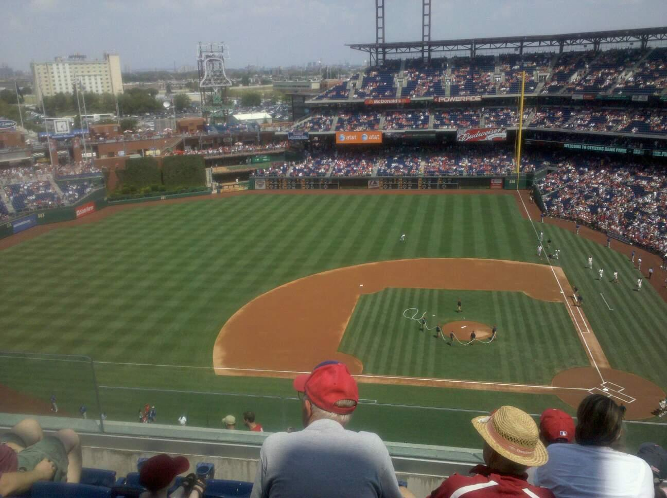 Citizens Bank Park Section 426 Row 4 Seat 20