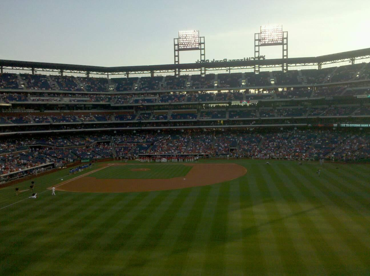 Citizens Bank Park Section 202 Row 1 Seat 15