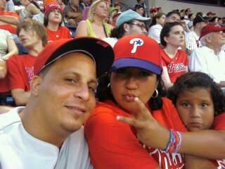 Citizens Bank Park  Section 131 Row 21 Seat 5