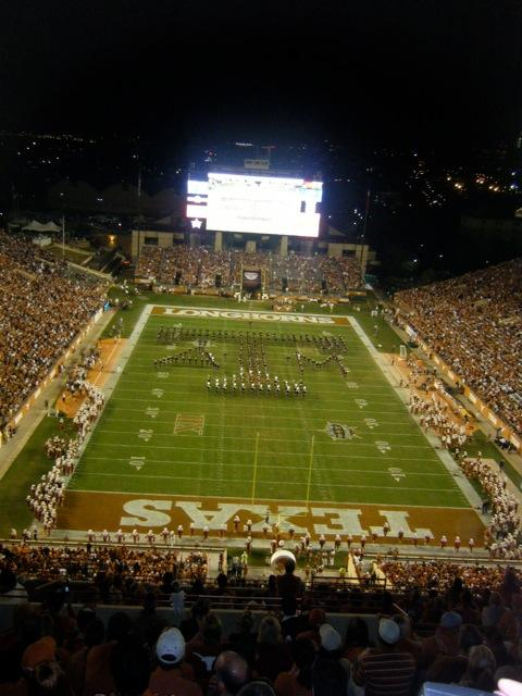 Texas Memorial Stadium Section 116