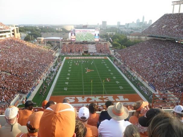 Texas Memorial Stadium Section 116 Seat 2