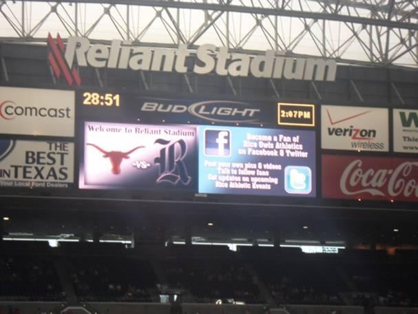 NRG Stadium Section 120 Row BB Seat 3