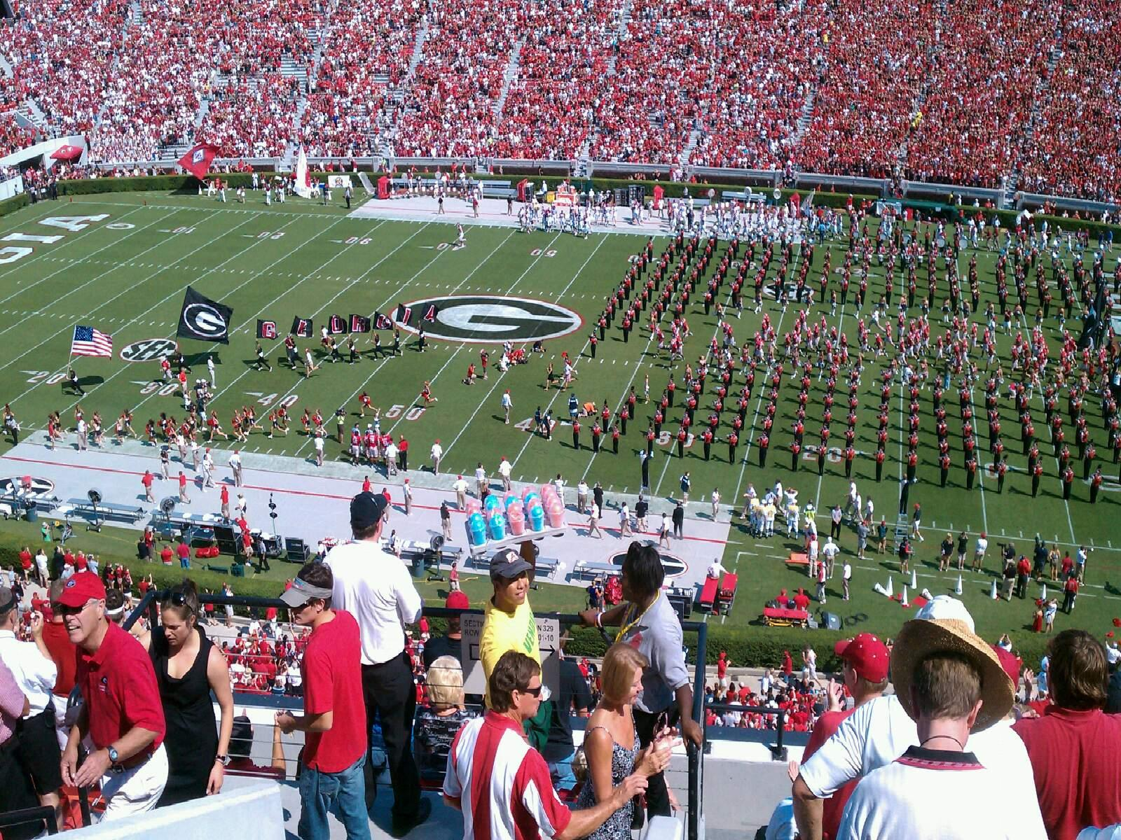 Sanford Stadium  Section 329