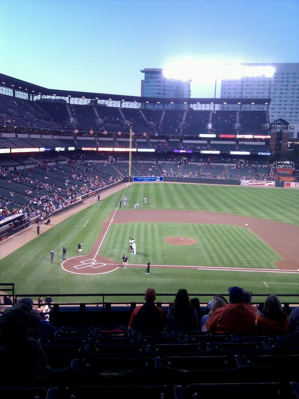 Oriole Park at Camden Yards Section 220 Row 8 Seat 13