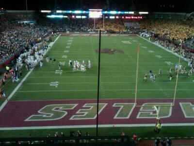 Alumni Stadium Section kk