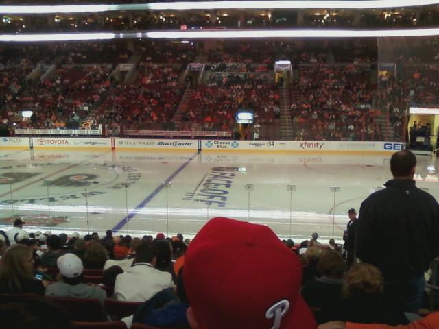 Wells Fargo Center Section 114 Row 15 Seat 18