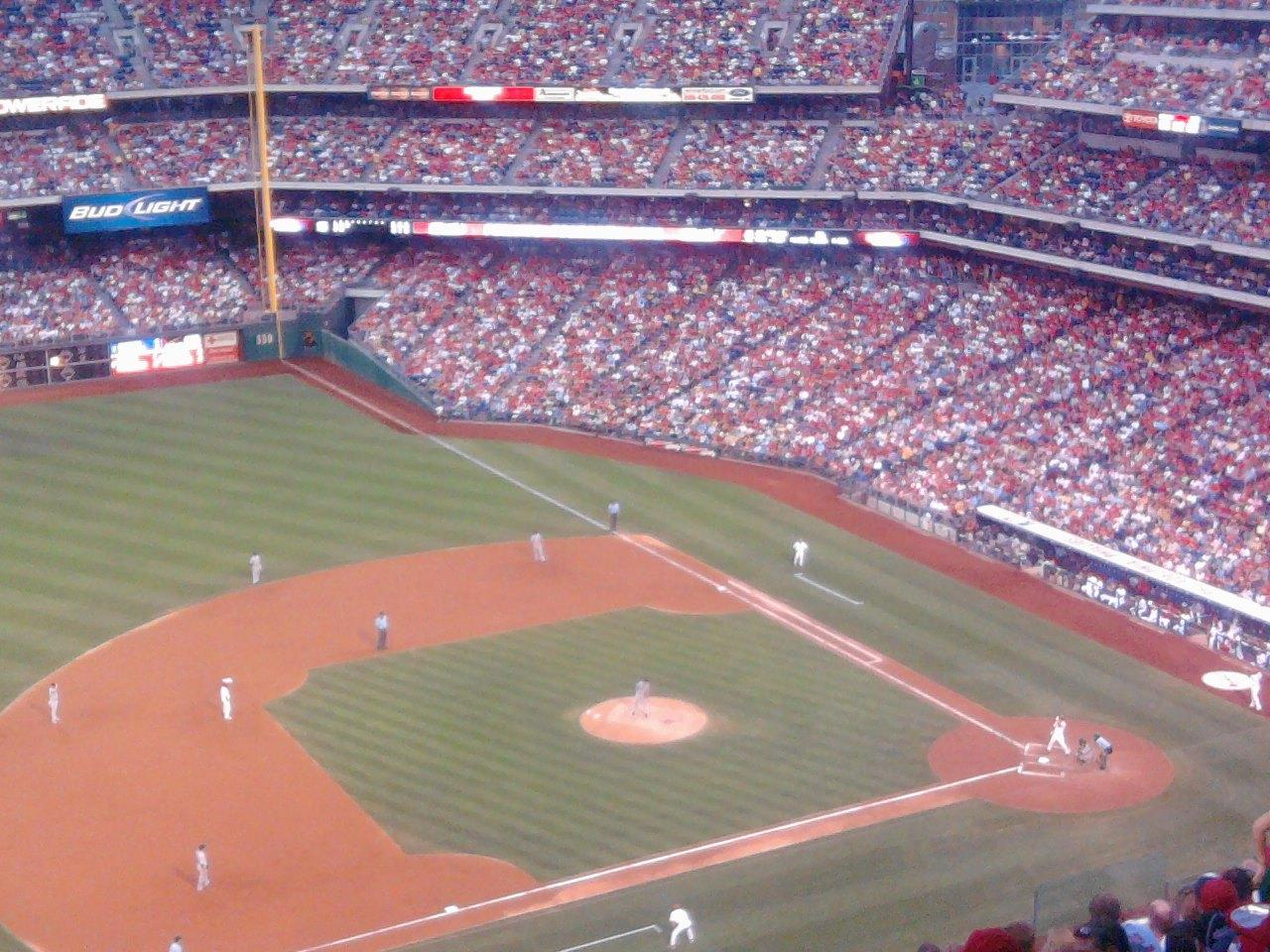 Citizens Bank Park Section 429 Row 11