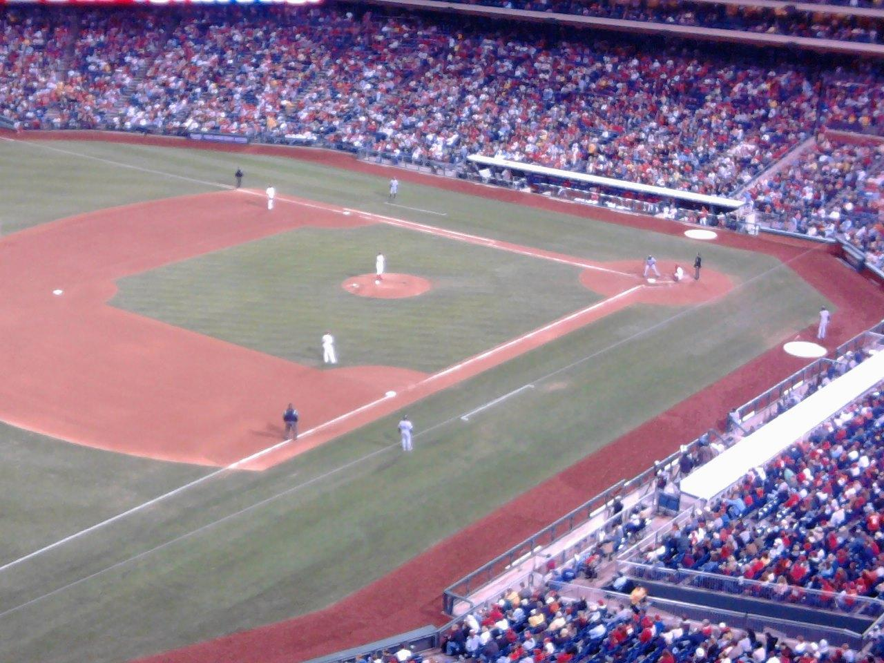Citizens Bank Park Section 431 Row 1