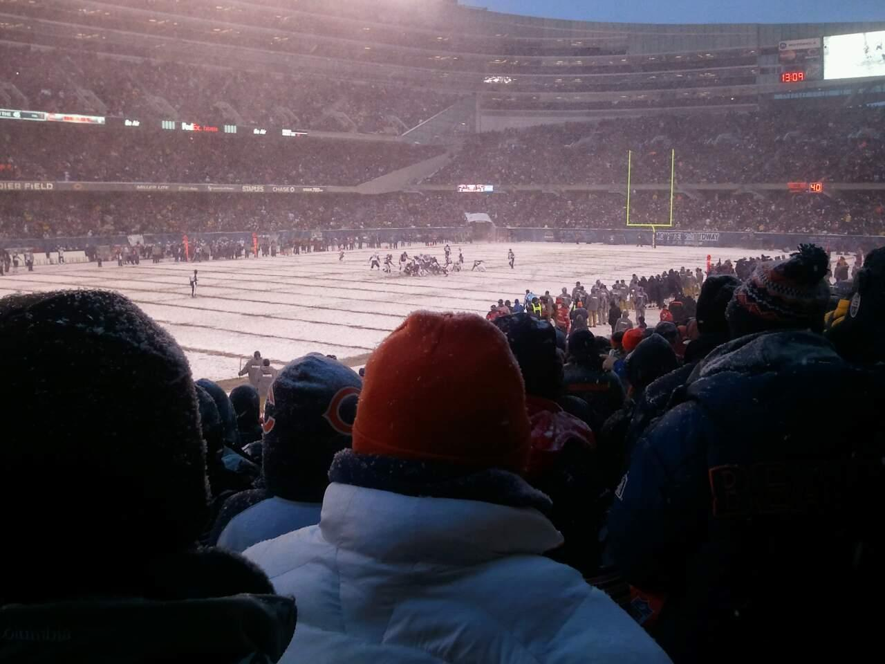 Soldier Field Section 144 Row 15 Seat 11