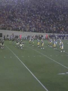 Vanderbilt Stadium Section A Row 12 Seat 33