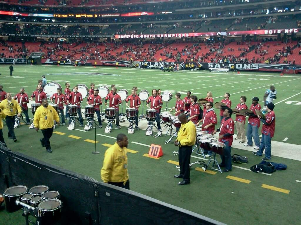 Georgia Dome Section 112 Row 2 Seat 19