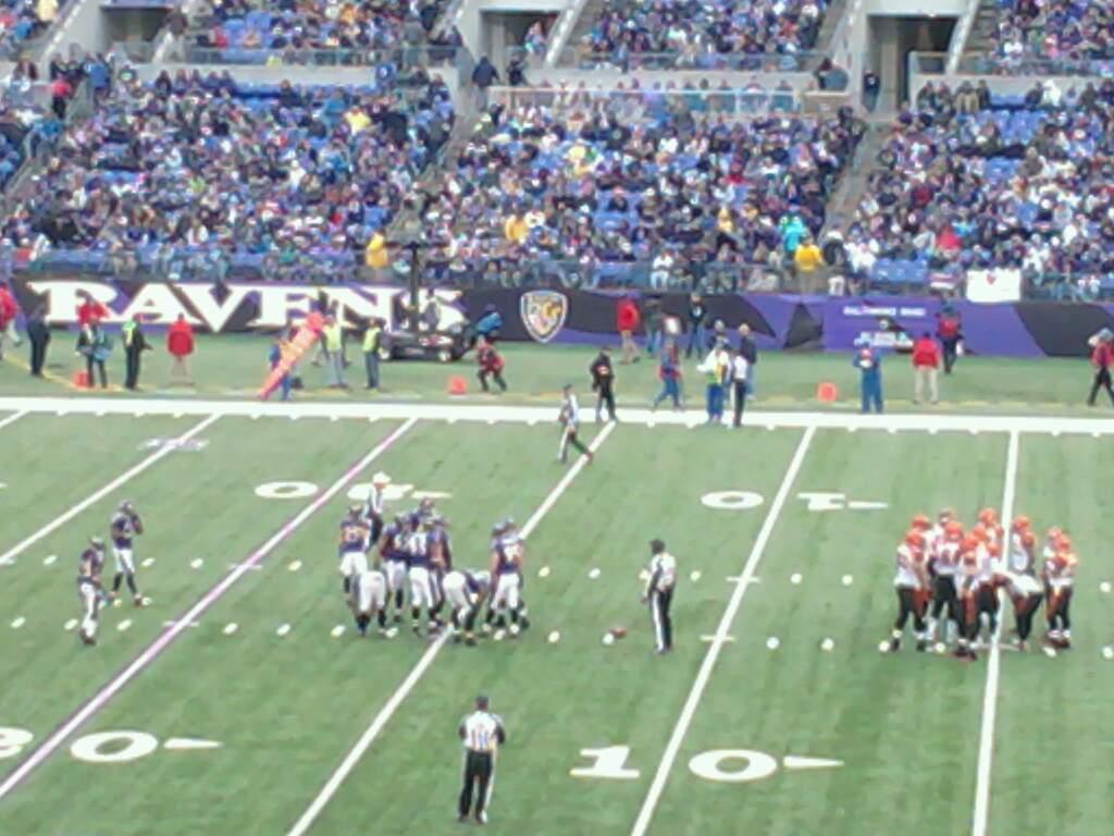 M&T Bank Stadium Section 150 Row 42 Seat 21