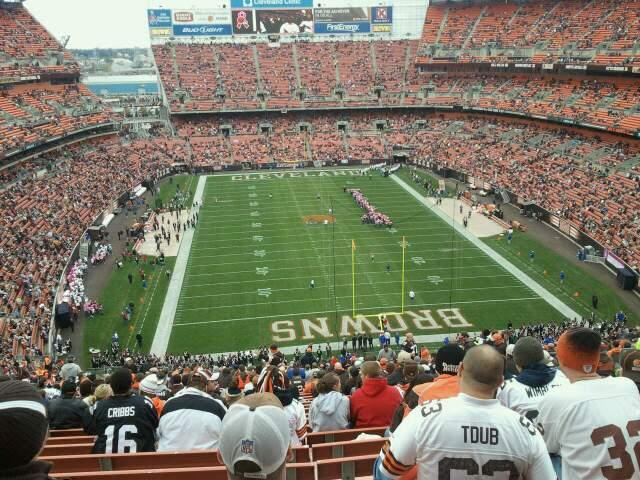 FirstEnergy Stadium Section 319 Row 39 Seat 14