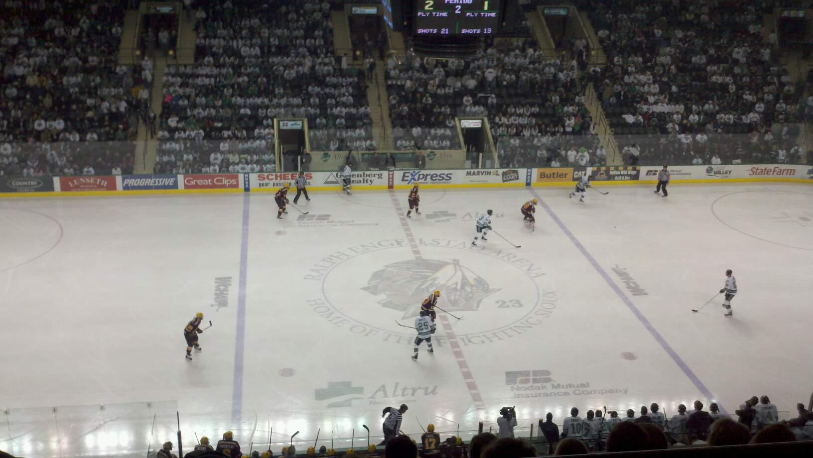 Ralph Engelstad Arena Section 301