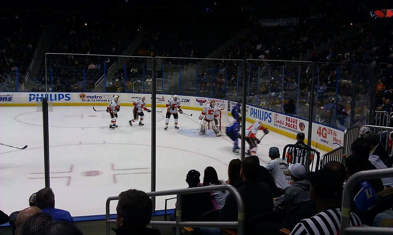 State Farm Arena Section 113 Row M Seat 3