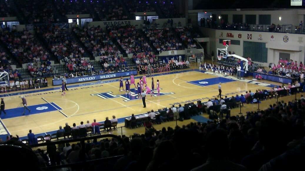Memorial Coliseum (Lexington) Section 217