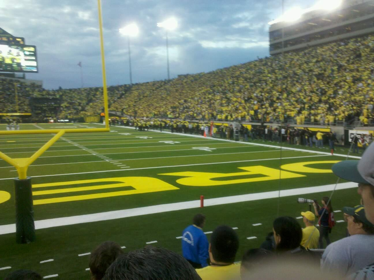 Autzen Stadium Section 1