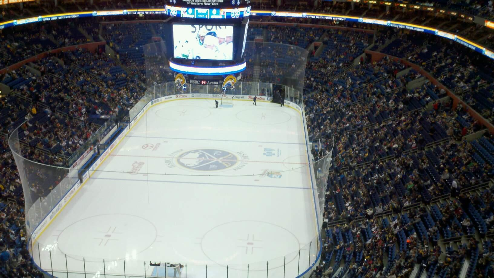 KeyBank Center Section 326 Row 14 Seat 26