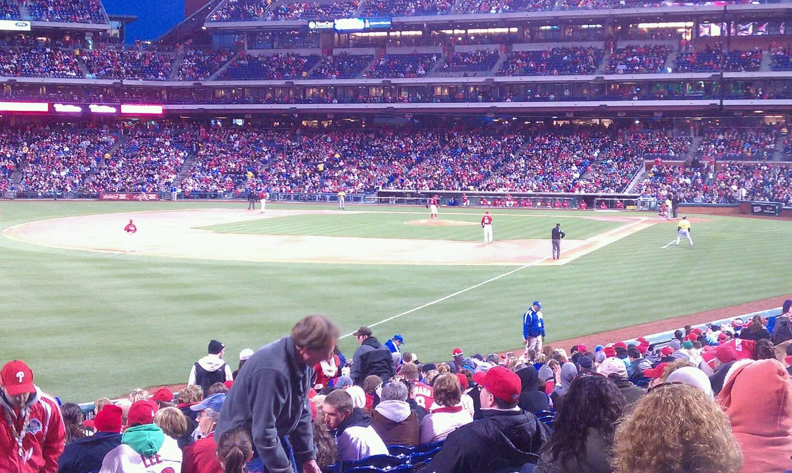 Citizens Bank Park Section 139 Row 27 Seat 1