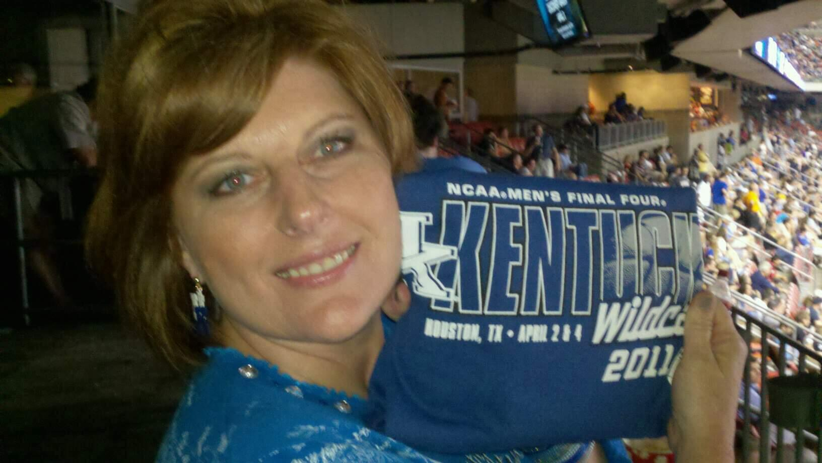 Rupp Arena Section 34 Row v Seat 1