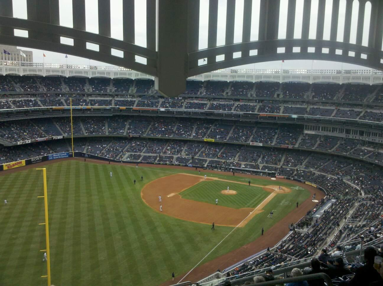 Yankee Stadium Section 432a Row 14 Seat 5