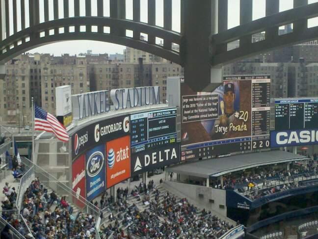 Yankee Stadium Section 432a Row 14 Seat 5